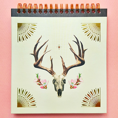 [echodesoul] Dreamy Land Egyptian Journal - Deer (Plain)